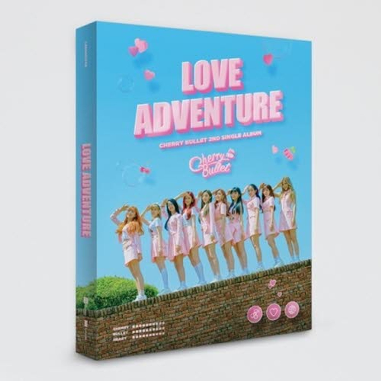 Cherry Bullet - 2nd Single [LOVE ADVENTURE] + Poster