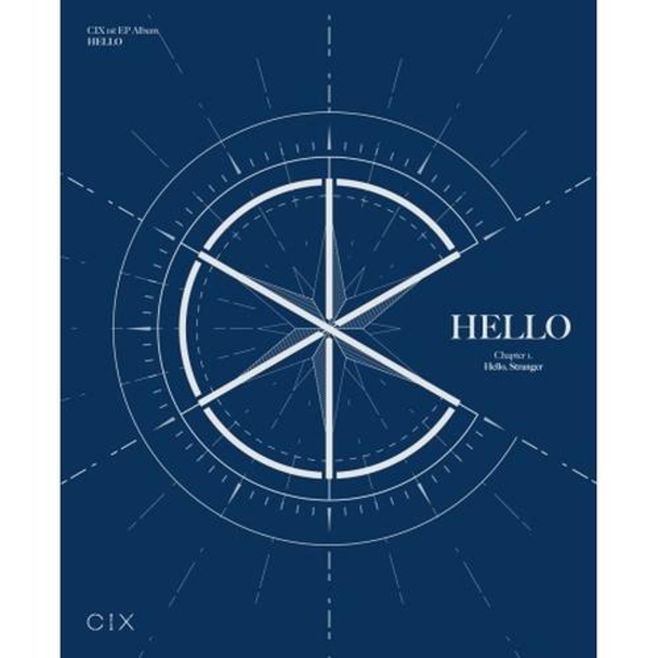 CIX - CIX 1st EP ALBUM   HELLO' Chapter 1.  Hello, Stranger (Stranger ver.) + Poster