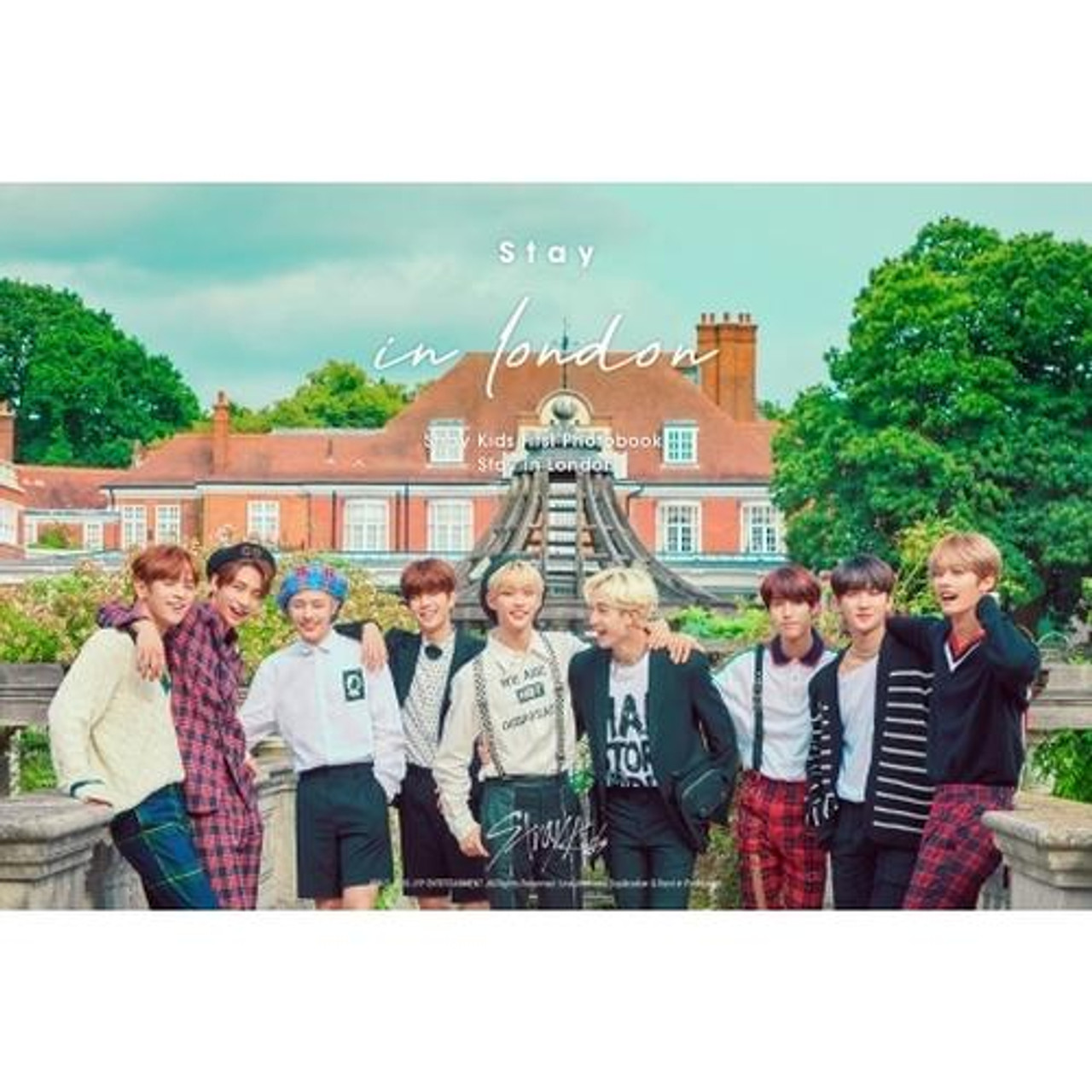 STRAY KIDS - STRAY KIDS FIRST PHOTOBOOK [STAY IN LONDON] (DHL or EMS shipping only)