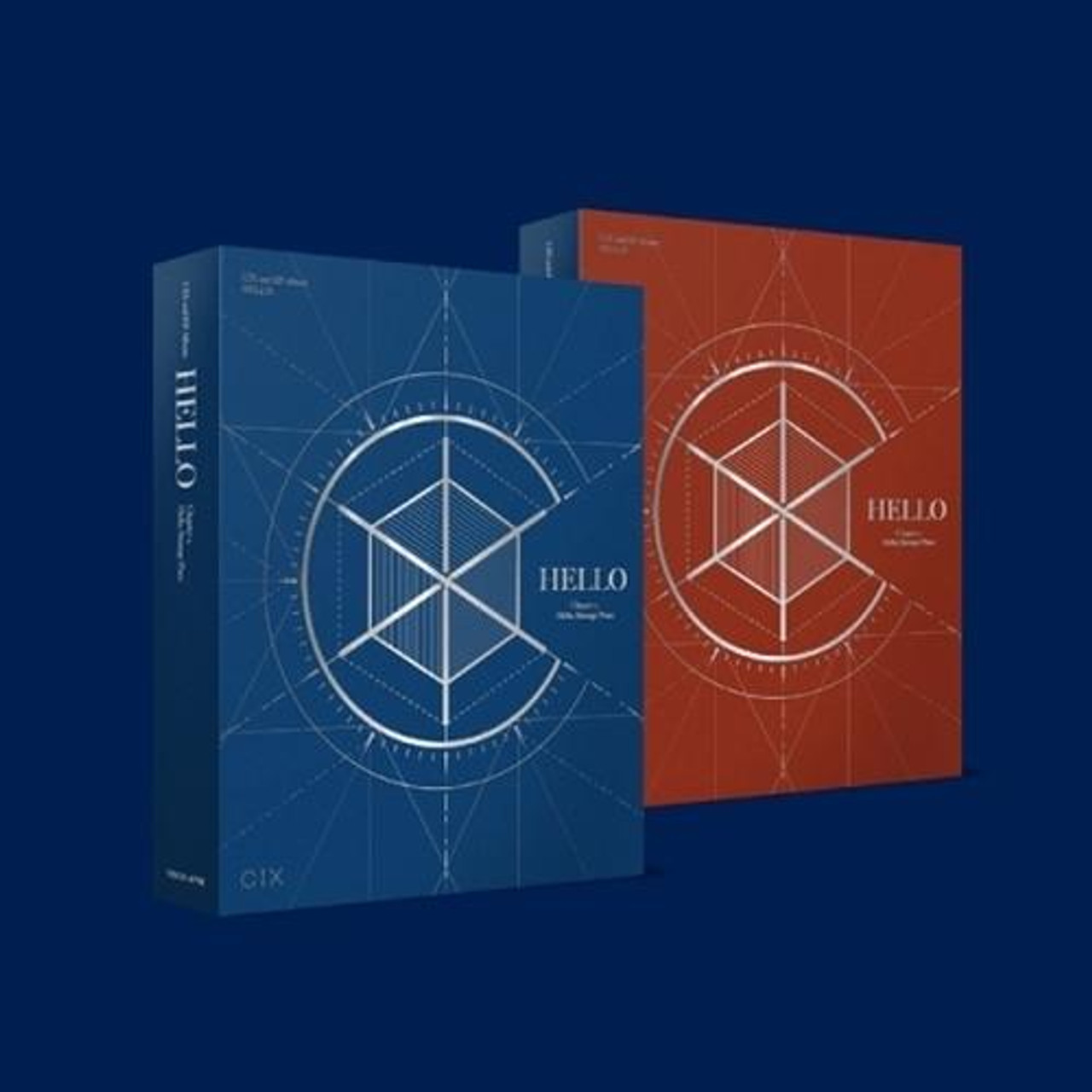 CIX  -2nd EP ALBUM HELLO' Chapter 2. Hello, Strange Place (A: Hello / B: Strange Place Ver.) + Poster