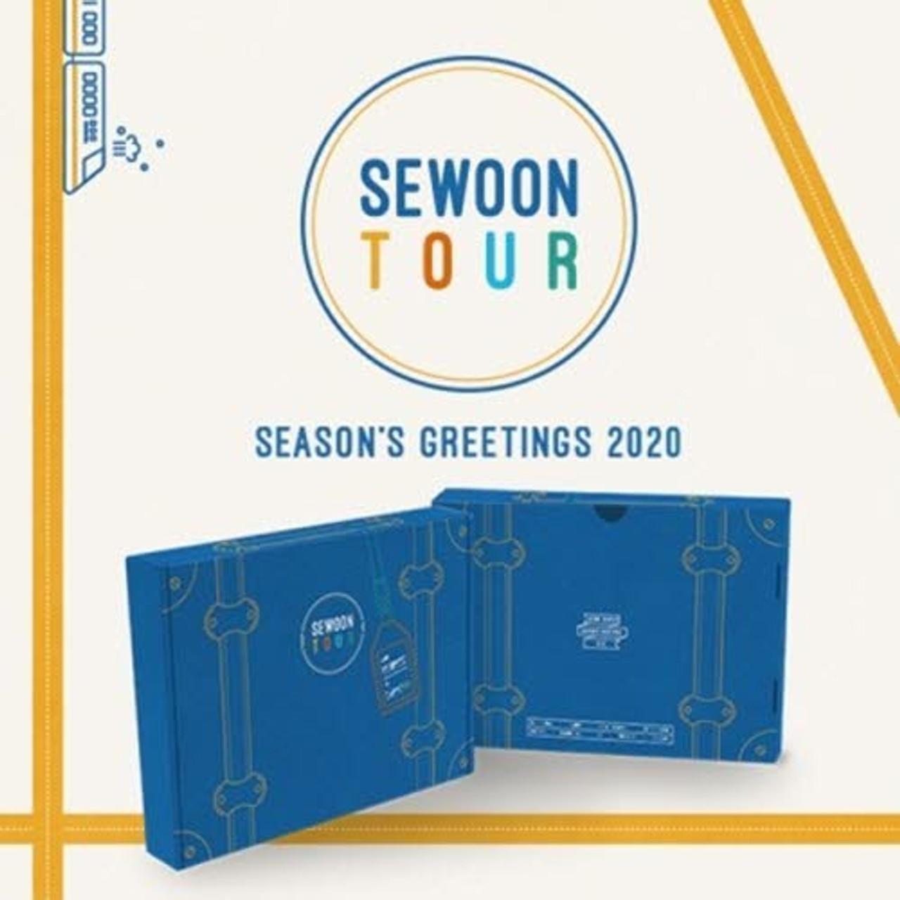 JUNG SEWOON - 2020 SEASONS GREETINGS