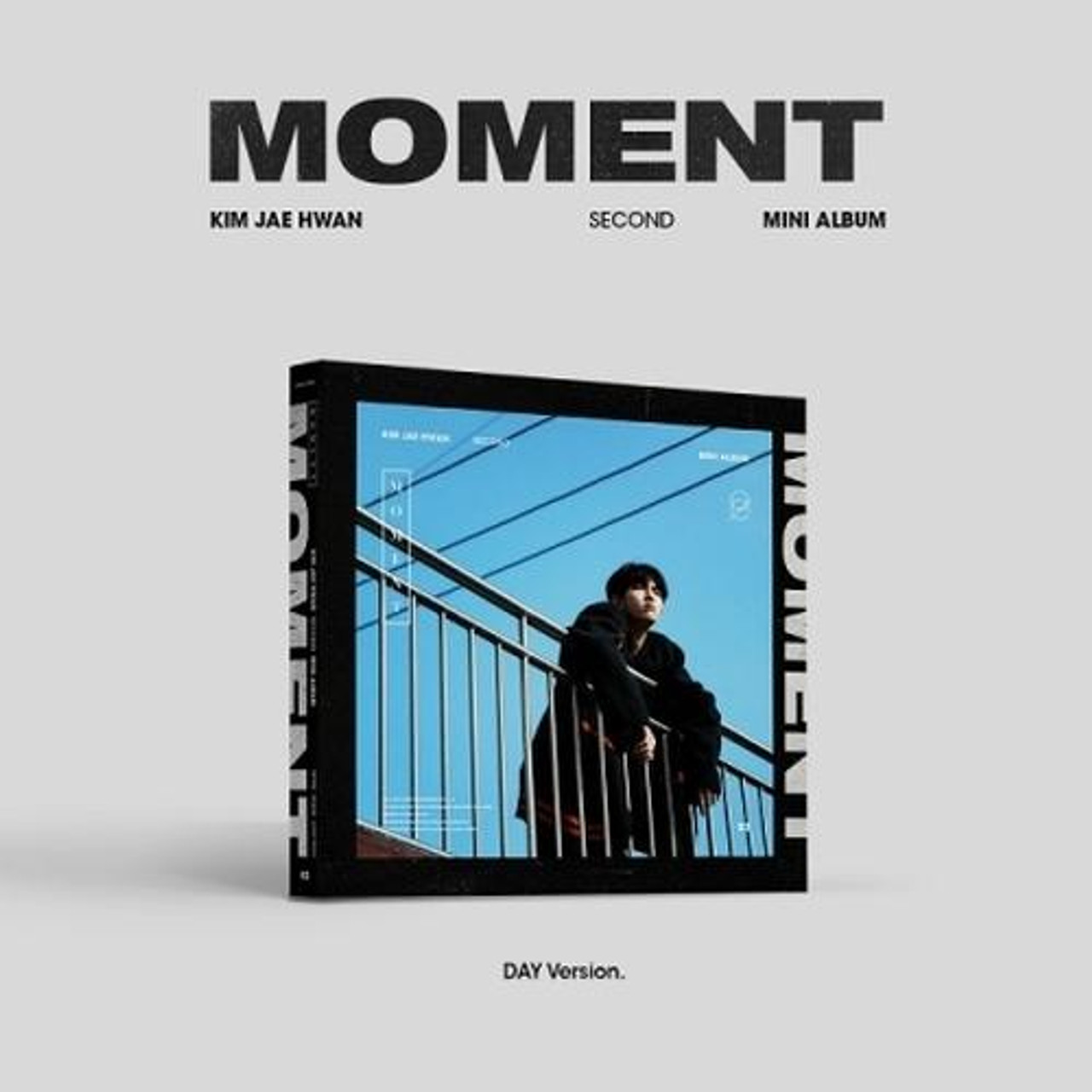 Kim Jae Hwan - 2nd Mini [MOMENT] (Day Ver.) + Poster