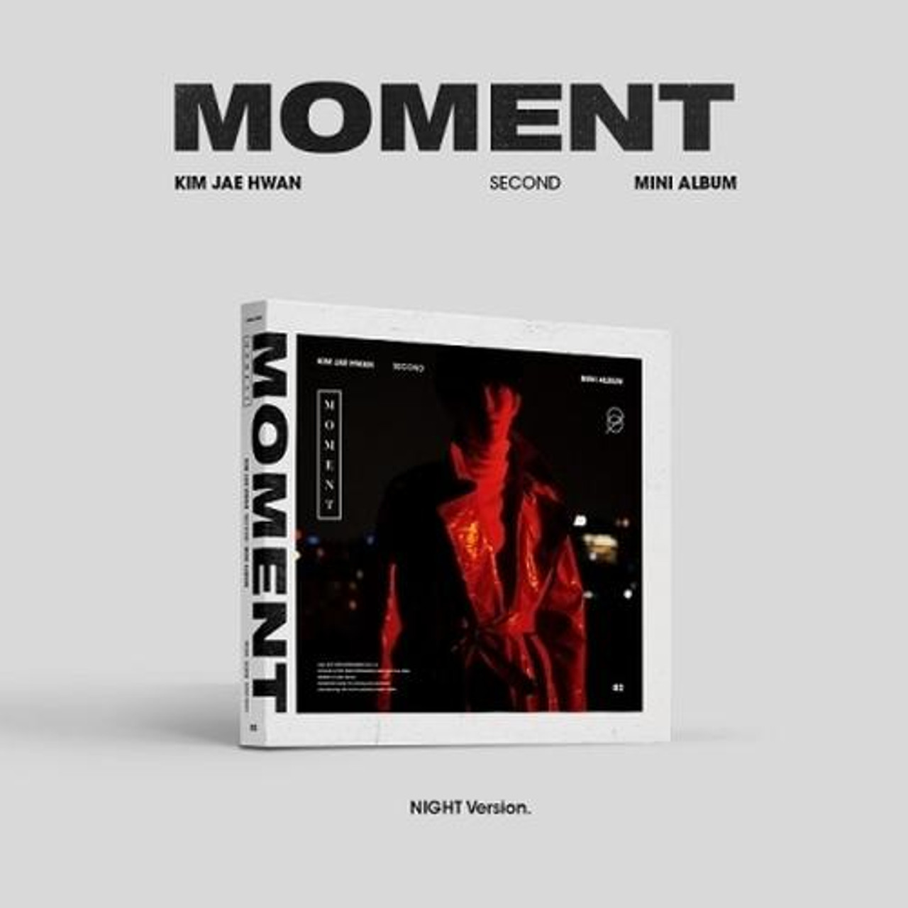 Kim Jae Hwan - 2nd Mini [MOMENT] (Night Ver.) + Poster