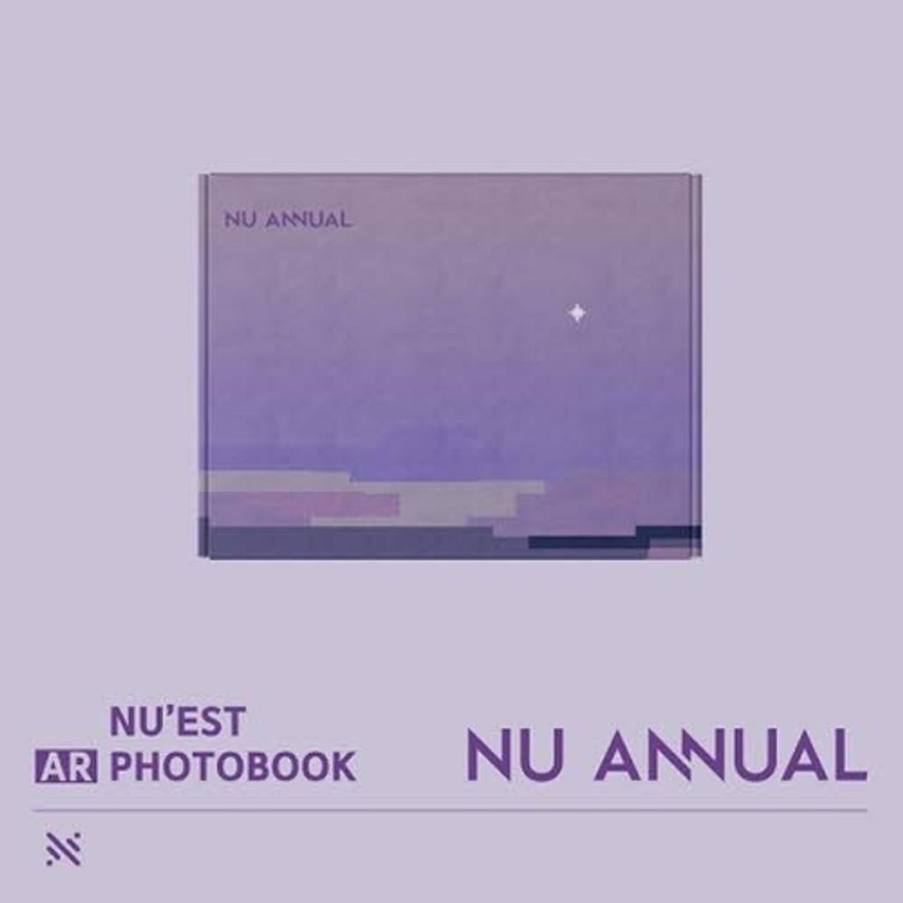 NUEST - NU ANNUAL (AR Photobook) + Poster