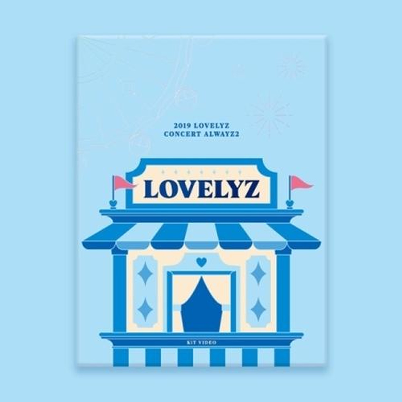 Lovelyz - 2019 LOVELYZ CONCERT ALWAYZ 2 KIT VIDEO