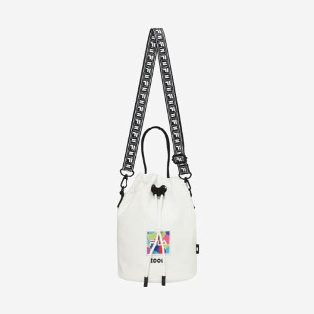 Fila X Bts Idol Burket Bag White Interasia