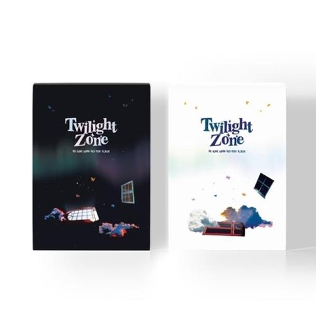 Ha Sung Woon - 3rd Mini [Twilight Zone] (A:Black / B:White ver.) + Poster