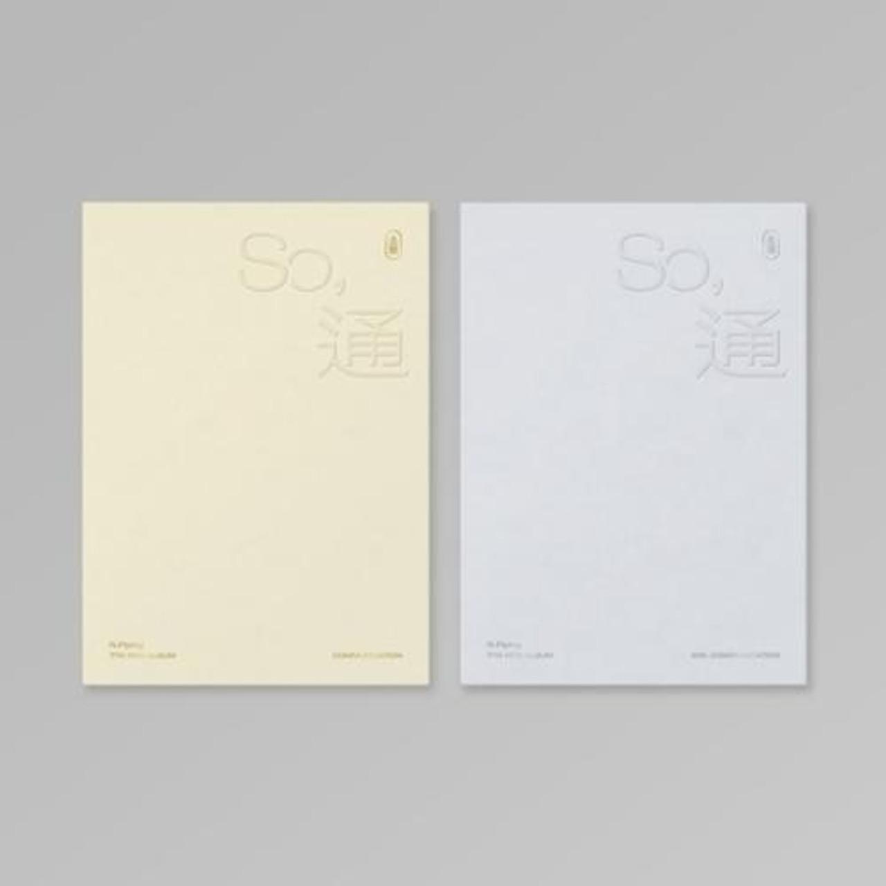 N.Flying - 7th Mini [So, 通 (소통)] Random ver. + Poster