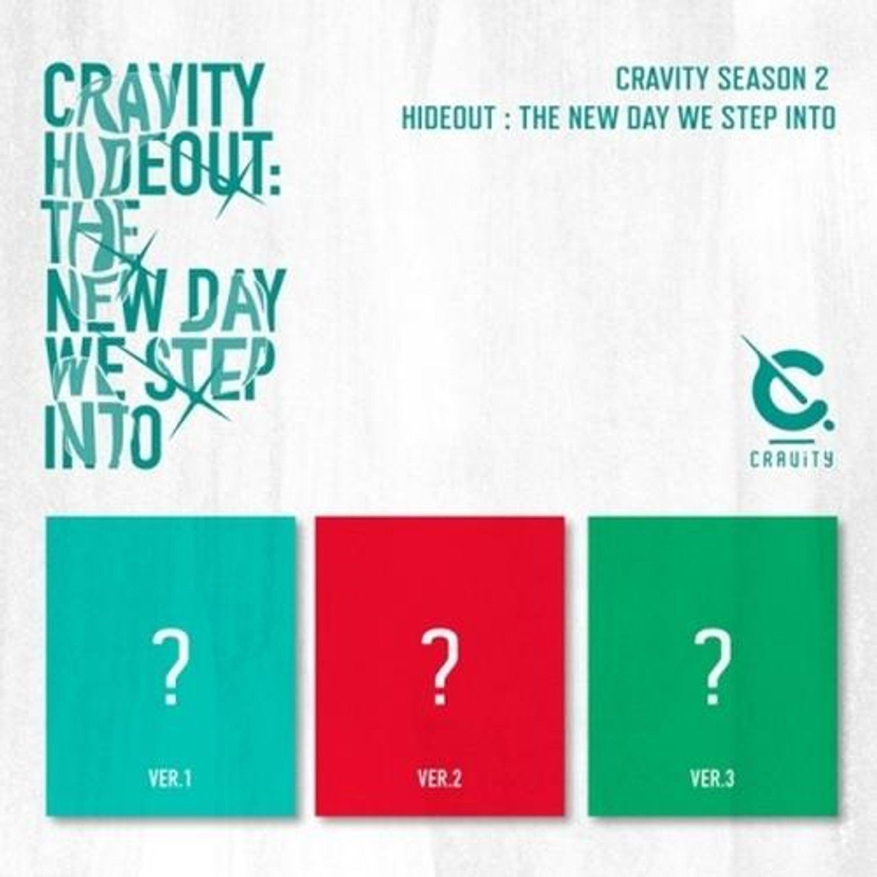 CRAVITY - SEASON2. [HIDEOUT: THE NEW DAY WE STEP INTO] + Poster