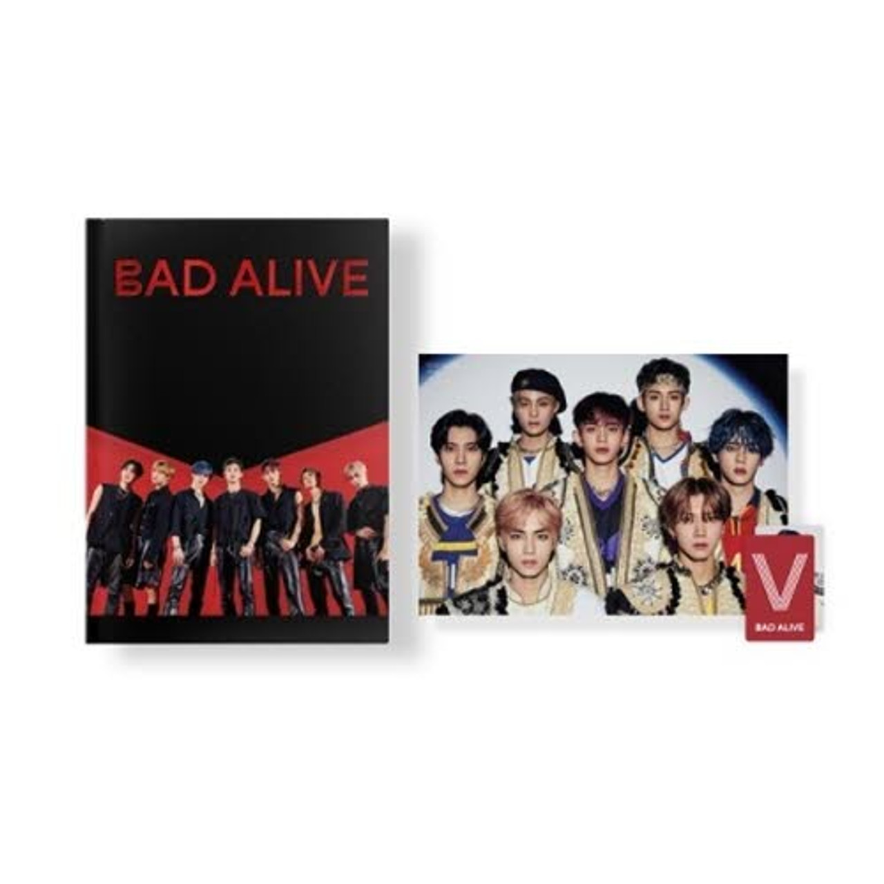 WayV PHOTO STORY BOOK [Bad Alive] STORY BOOK [Bad Alive]