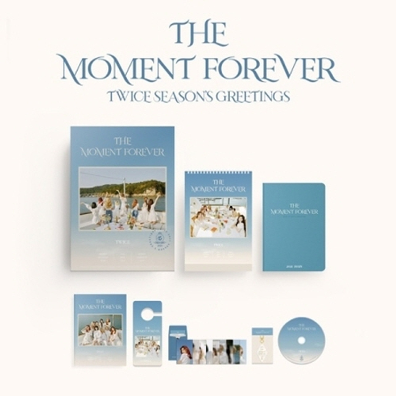 TWICE - 2021 SEASONS GREETINGS - THE MOMENT FOREVER
