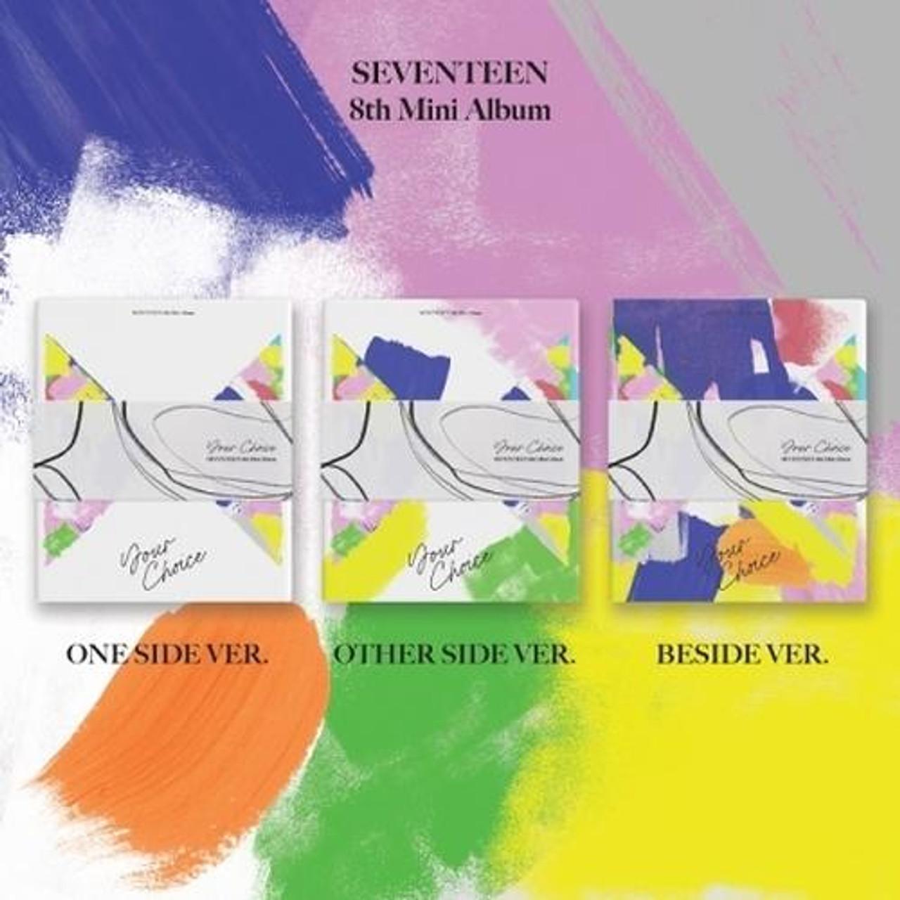 SEVENTEEN - 8th Mini [Your Choice] 3 Set Ver.