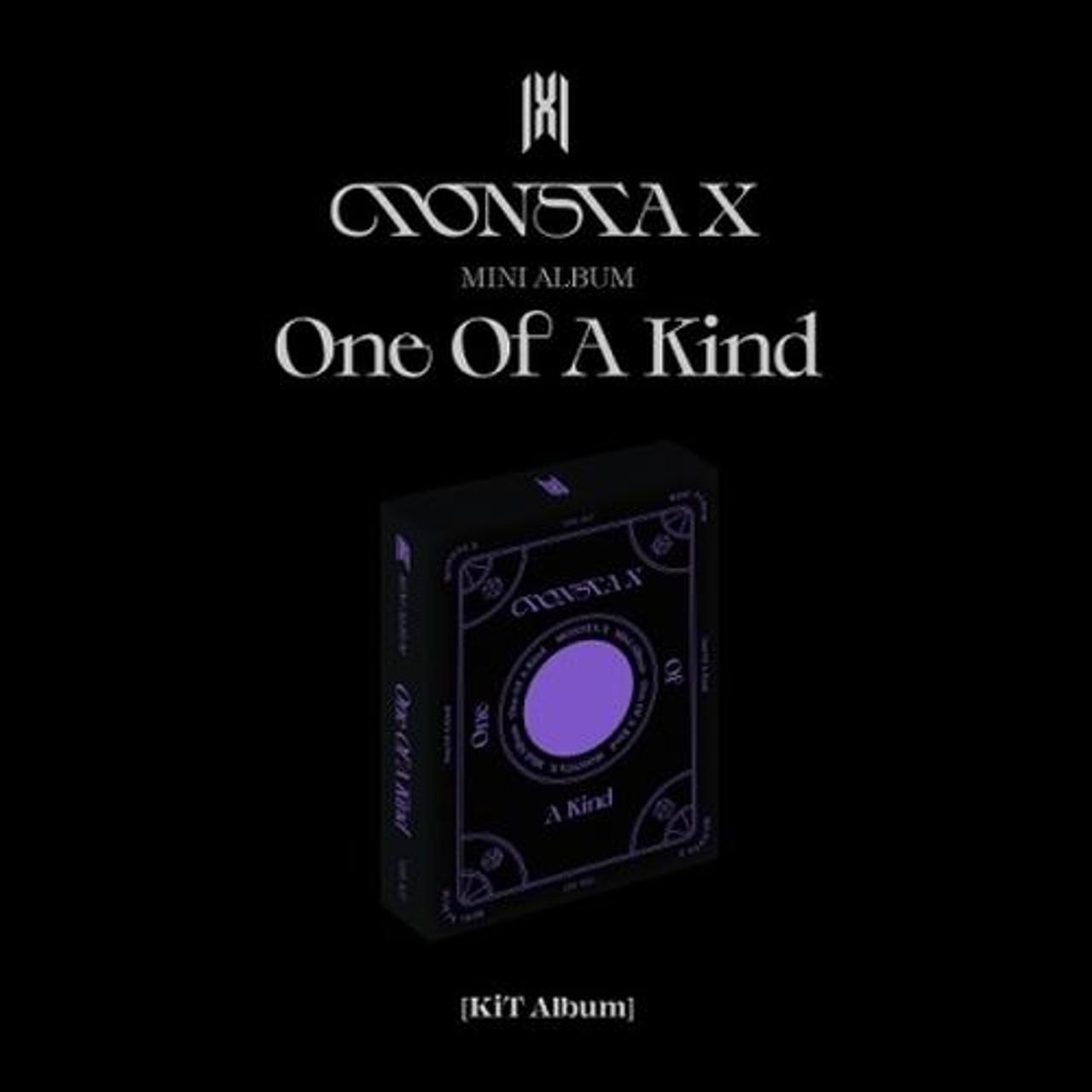 MONSTA X - Mini Album [ONE OF A KIND] (KINO KIT)