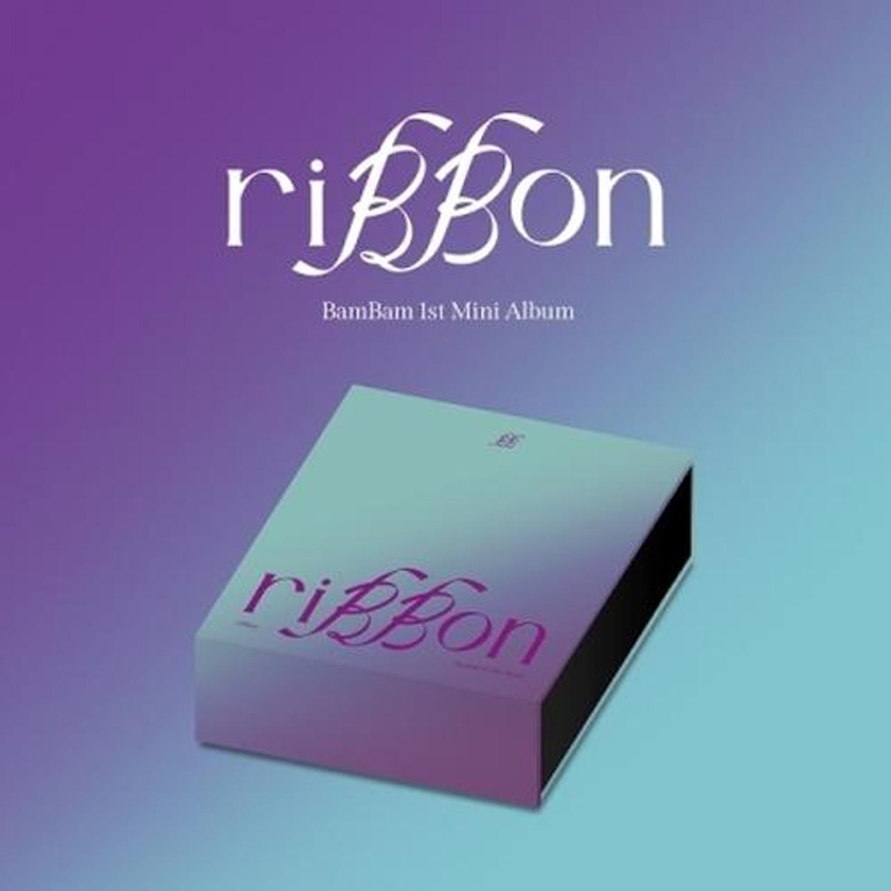 BAMBAM - 1st Mini [riBBon] riBBon Ver.