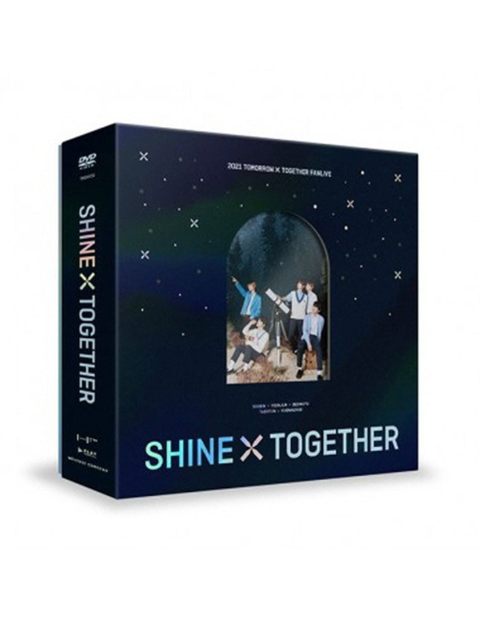 TXT - 2021 TXT FANLIVE SHINE X TOGETHER DVD