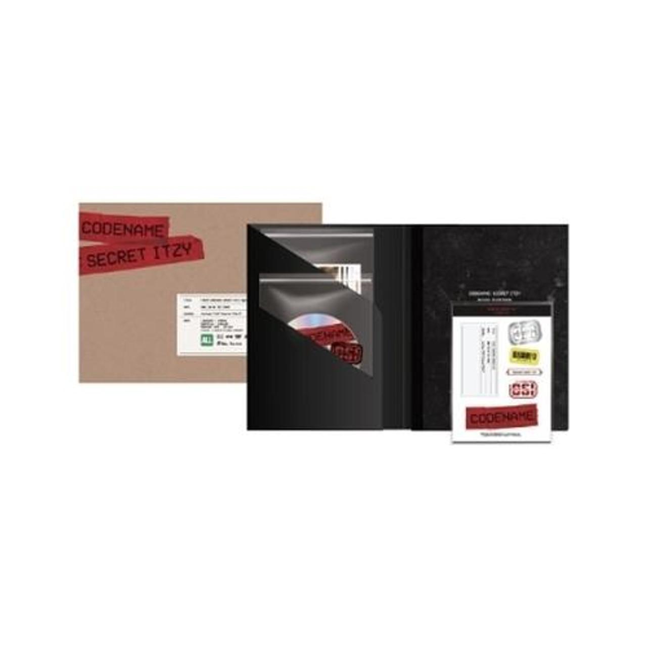 ITZY - [CODENAME : SECRET ITZY] BEHIND DVD PHOTOBOOK PACKAGE