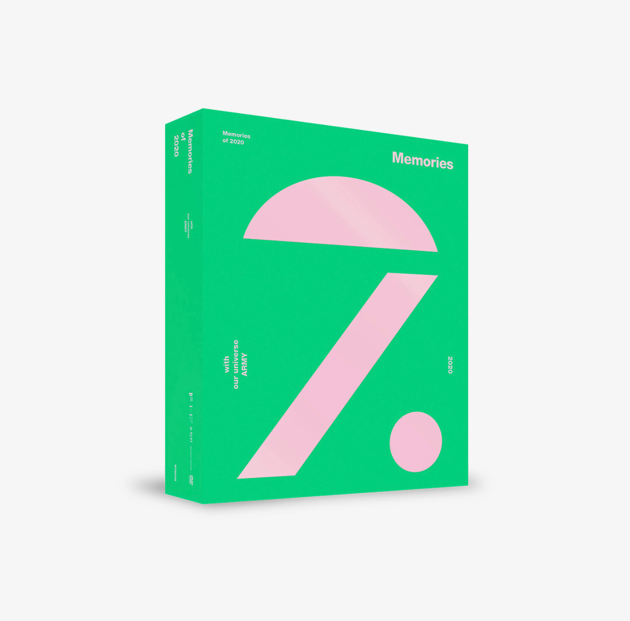 BTS - BTS MEMORIES OF 2020 DVD + Weverse Gift