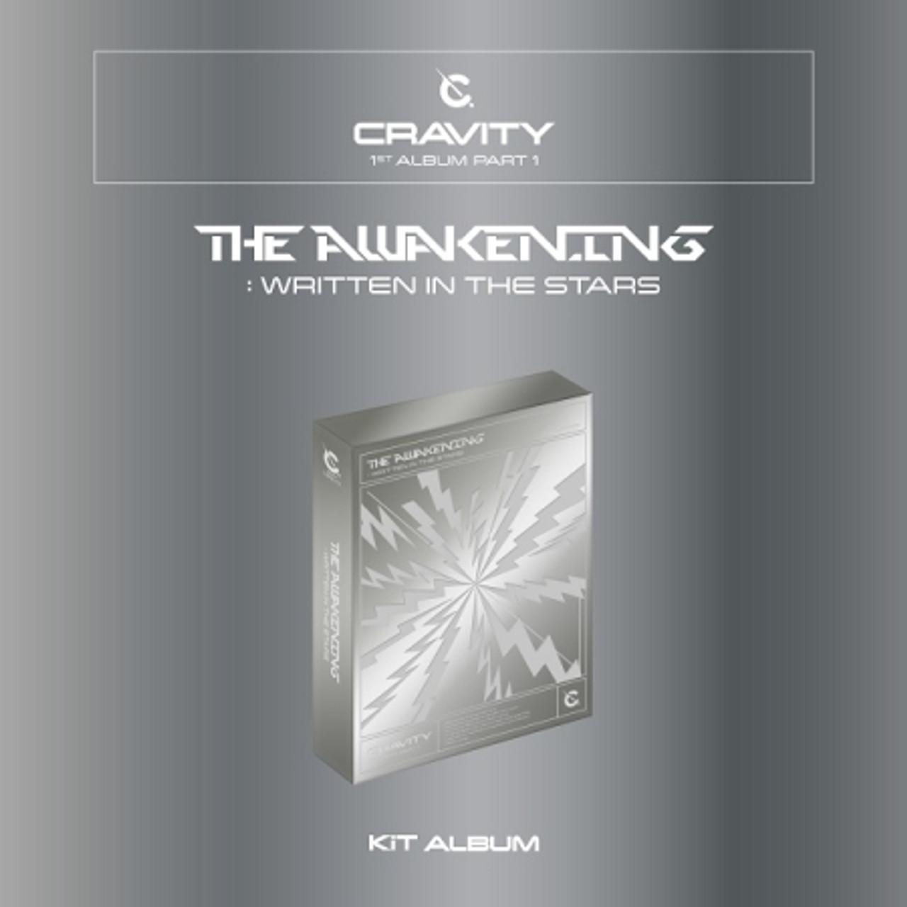 CRAVITY - Vol. 1 PART 1 [The Awakening :Written in the Stars] KIT Album