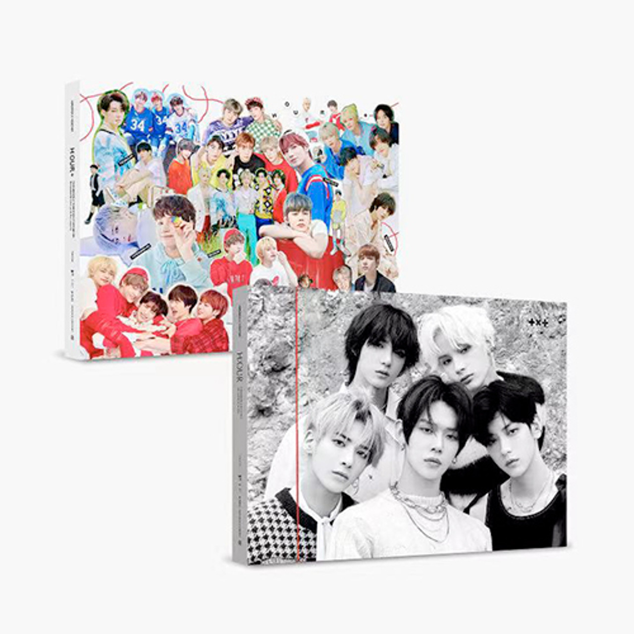 TXT-H:OUR 2VER SET (3RD PHOTOBOOK+Extended edition)+Weverse Gift