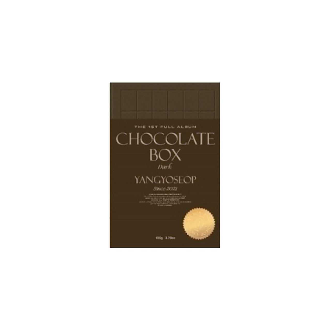 YANGYOSEOP -1st [Chocolate Box] Dark Ver.