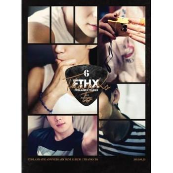 FT Island - THANKS TO (CD+DVD) 6th Anniversary Mini Album