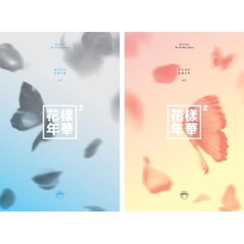 BTS - 4th Mini /  HYYH pt.2 (A:Peach / B: Blue version)