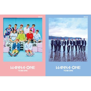 WANNA ONE - 1st Mini / 1X1=1 (TO BE ONE) (A:Pink / B:Sky Ver.)