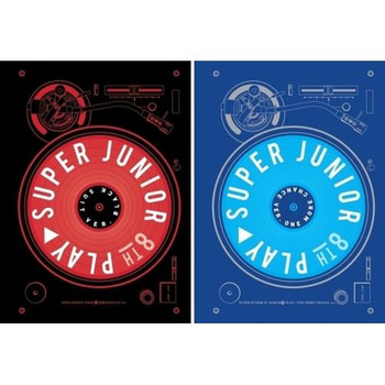 SUPER JUNIOR - Vol.8  [PLAY]  (Random ver.)