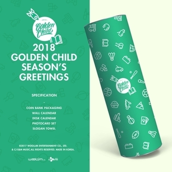 GOLDEN CHILD- SEASON GREETINGS 2018