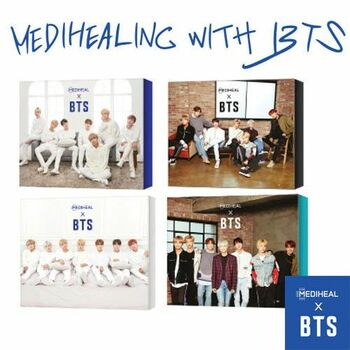 MEDIHEAL x BTS Special Set (Mask Sheets 10ea + BTS Photocard 14ea)
