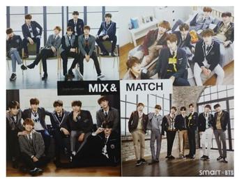 BTS - SMART 2018 Desk Calendar (Official Licensed Goods)