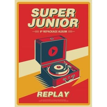 Super Junior - Vol.8 Repackage [REPLAY]