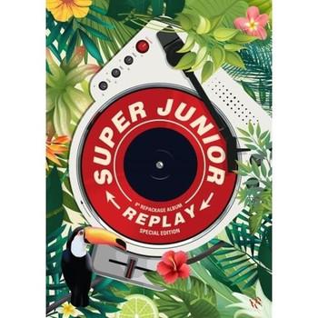 SUPER JUNIOR - Vol.8 Repackage [ Replay] Kihno Album