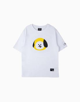 BT21 CHIMMY Basic Graphic Short Sleeve Shirts