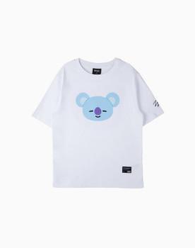 BT21 KOYA Basic Graphic Short Sleeve Shirts