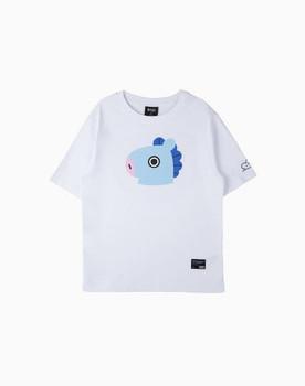 BT21 MANG Basic Graphic Short Sleeve Shirts