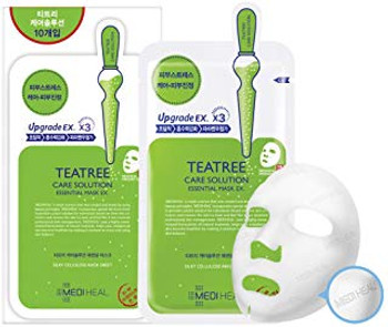 [MEDIHEAL] Teatree Care Solution Essential Mask EX. 25ml (1PCS)