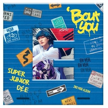 Super Junior - D&E -  2nd Mini [BOUT YOU]  (EUNHYUK VER.)