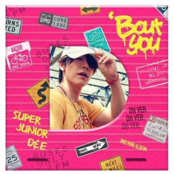 Super Junior - D&E -  2nd Mini [BOUT YOU]  (DONGHAE VER.)