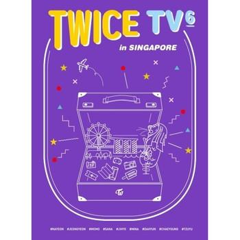 TWICE TV6 - [TWICE IN SINGAPORE] DVD