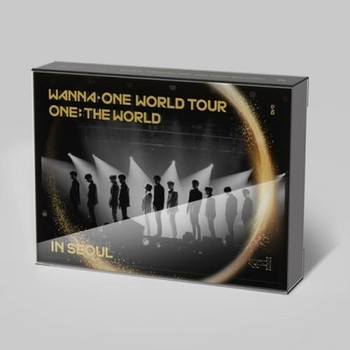 WANNA ONE - WORLD TOUR  ONE: THE WORLD IN SEOUL (DVD)