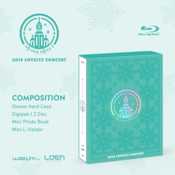 LOVELYZ - 2018 LOVELYZ CONCERT  (Blu-ray)