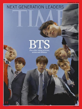 TIME Asia Ed. - BTS Cover (22/10/2018) + Poster