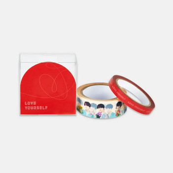 BTS World Tour [LOVE YOURSELF] Official MD - BOX TAPE SET