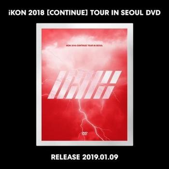iKON 2018 [CONTINUE] TOUR IN SEOUL DVD