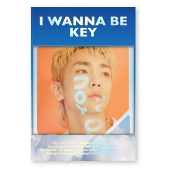 KEY - Vol.1 Repackage [I Wanna Be] Kihno (DHL Shipping Only)