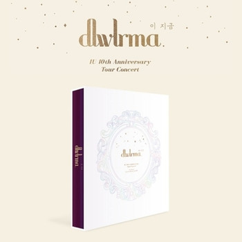 IU - 10th Anniversary Tour Concert [DLWLRMA.] Photobook (w/ Special Blu-Ray & DVD)