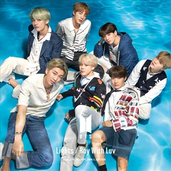 BTS - Lights / Boy With Luv (Japanese/Limited Edition B/ CD+DVD)