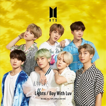 BTS - Lights / Boy With Luv (Japanese/Limited Edition C/ CD+Photo Booklet)