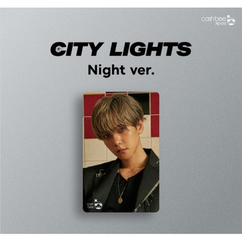 BAEK HYUN - Cashbee Traffic Card (NIGHT VER.)
